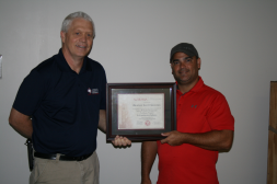 Brandley Sullivan Construction Safety Certificate