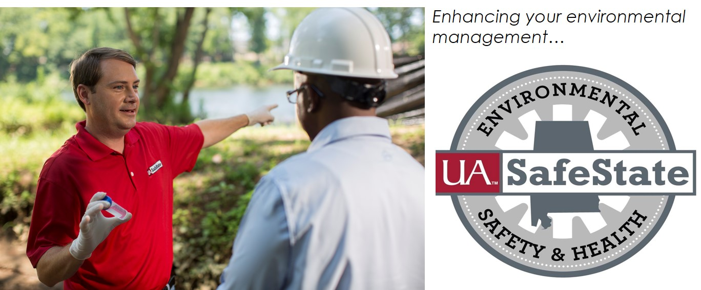 UA SafeState Environmental Consultant on the field