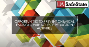 Opportunities to prevent chemical emissions with source reduction activities.